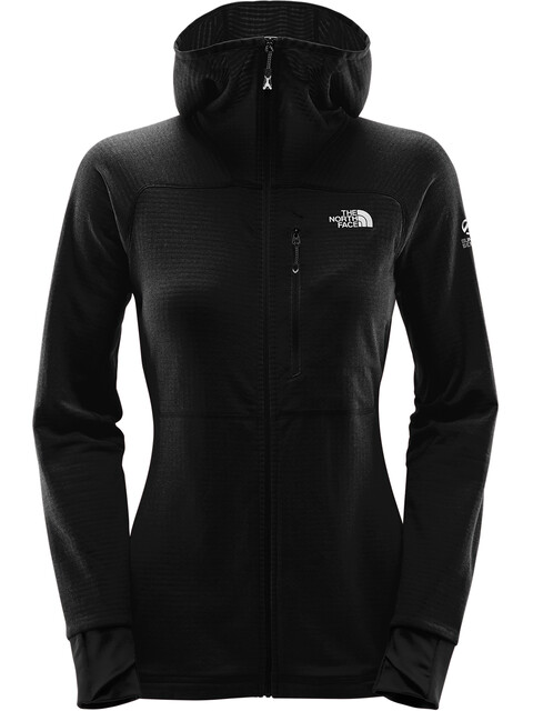 The North Face Summit L2 Proprius Grid Fleece Hoodie Women TNF Black